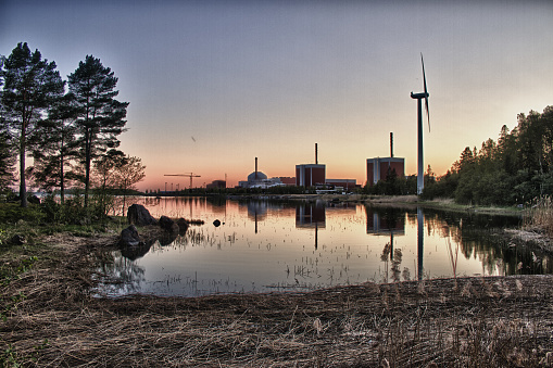Olkiluoto Nuclear Power Plant Stock Photo - Download Image Now