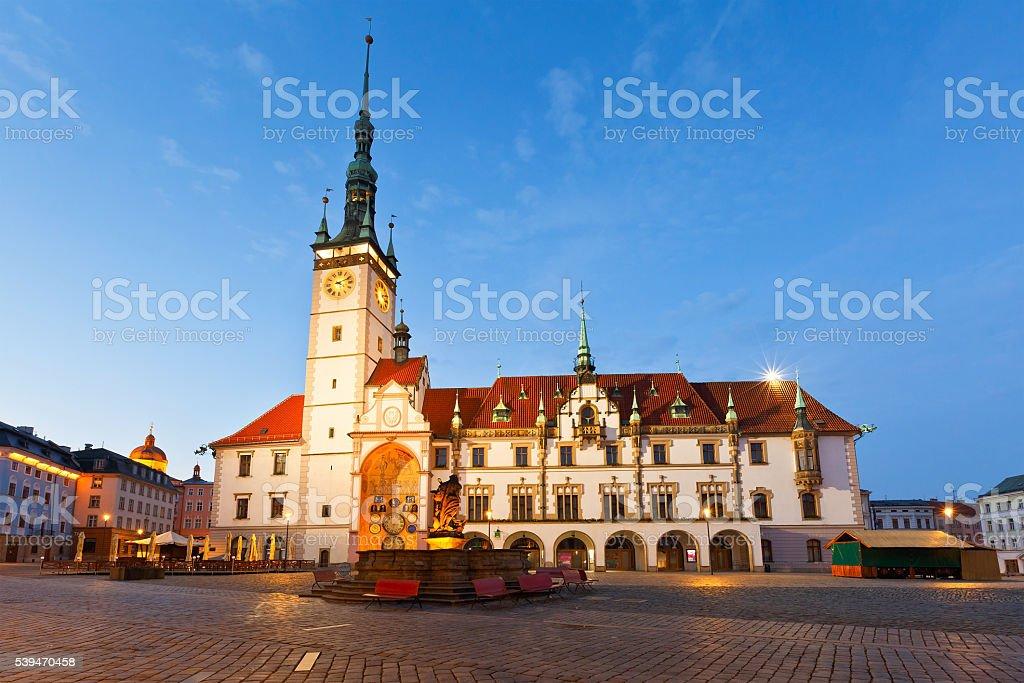 Olomouc, Czech Republic. stock photo
