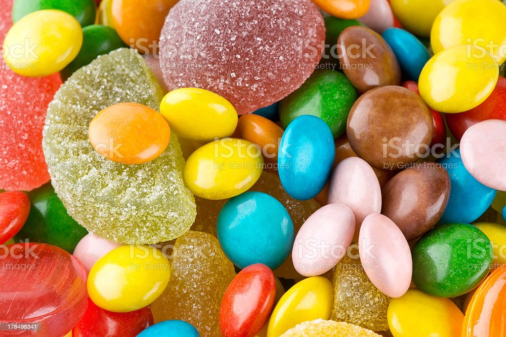 Сolorful candies royalty-free stock photo