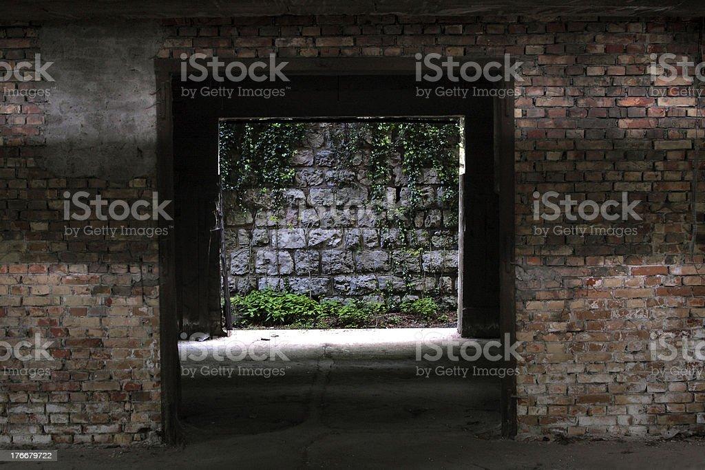 Oltre il muro royalty-free stock photo