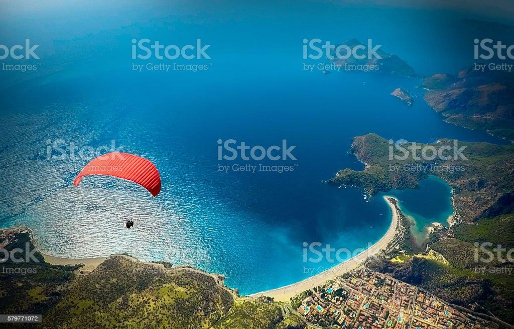 Oludeniz Fethiye Turkey stock photo