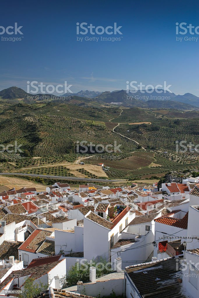 Olvera, Andalusia, Spain royalty-free stock photo