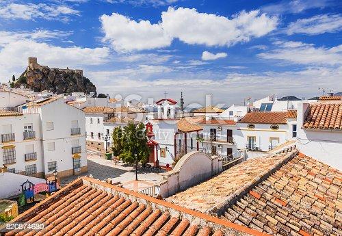 1135138312 istock photo Olvera village, Andalusia, Spain 820874680