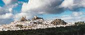 White town of Olvera, Andalusia (Spain).