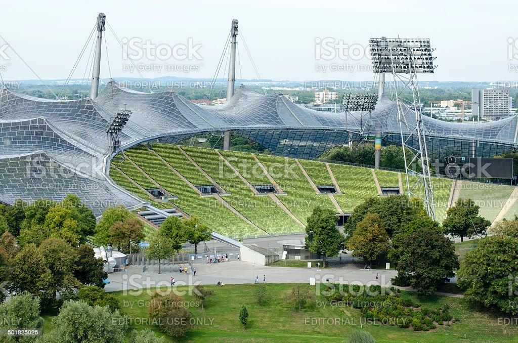 Olympia Stadium stock photo