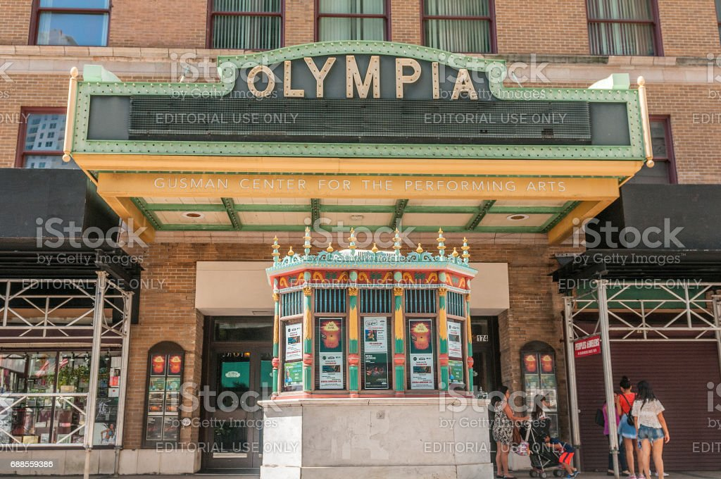 Olympia Theater stock photo