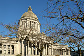 The dome of the Washington State Capital Building in Olympia.