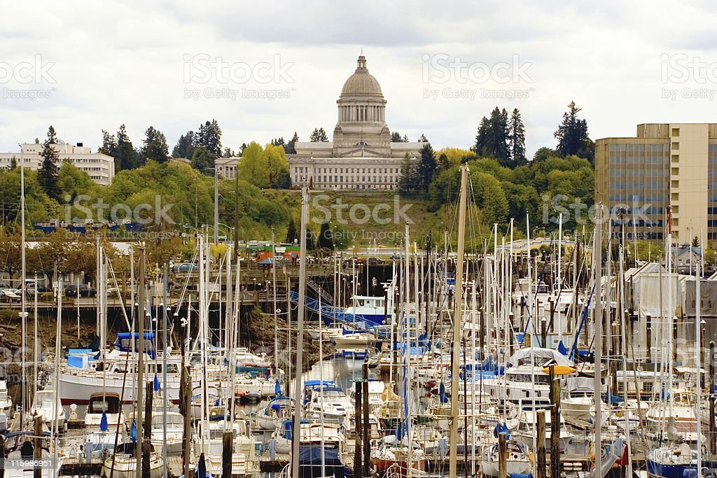 Olympia, Washington stock photo