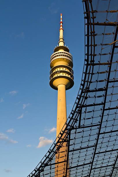 Olympiapark in Munich stock photo