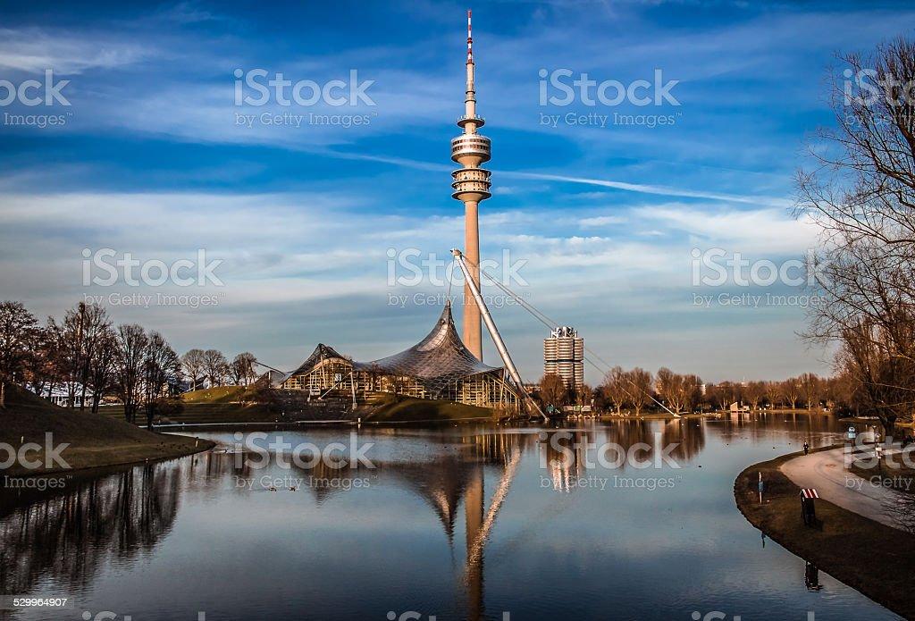 Olympiapark stock photo