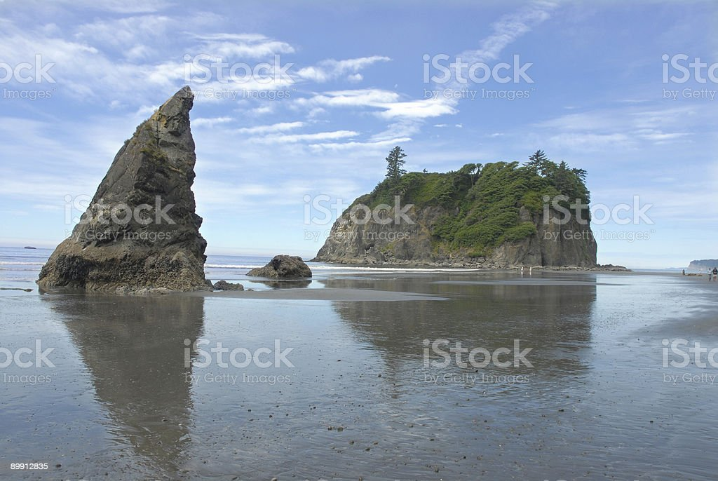 Olympic Coastline royalty-free stock photo