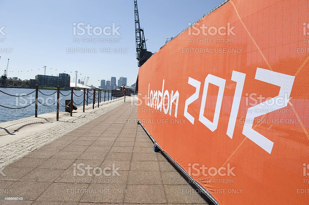 Olympic Games - London 2012 Banner stock photo