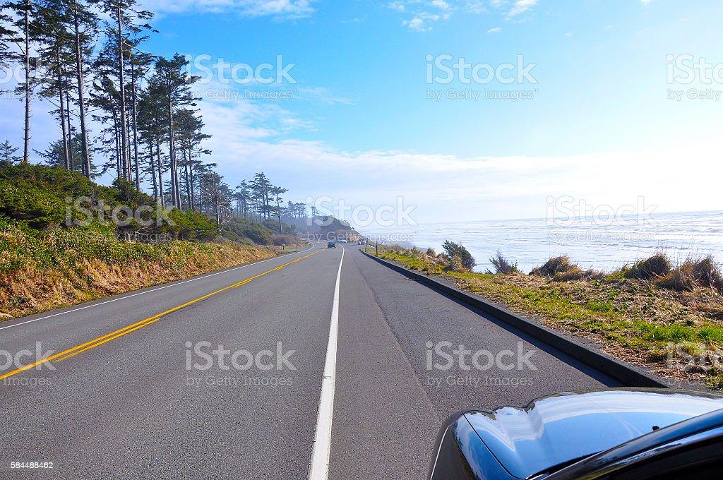 olympic national park stock photo