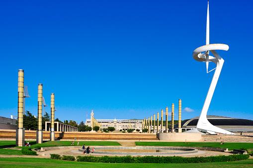 Olympic Park in Barcelona, Spain