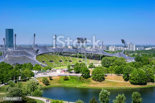 istock Olympic Park in Munich, Bavaria, Germany 1265448317