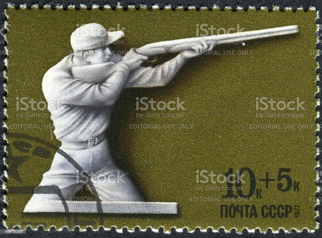 Olympic Shooting stock photo