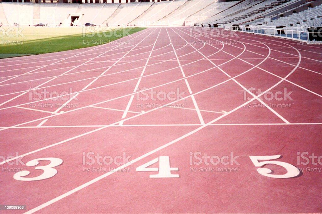 Olympic Stadium Montjuic stock photo
