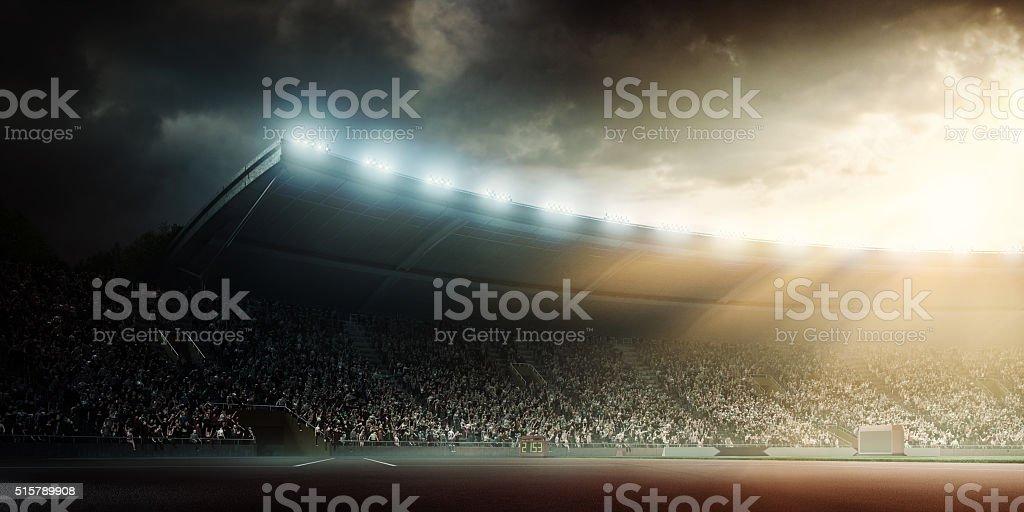 Olympic stadium stock photo