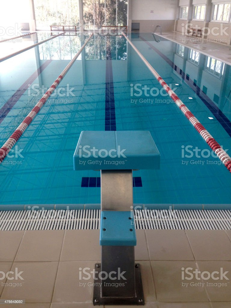 Superieur Olympic Swimming Pool Royalty Free Stock Photo