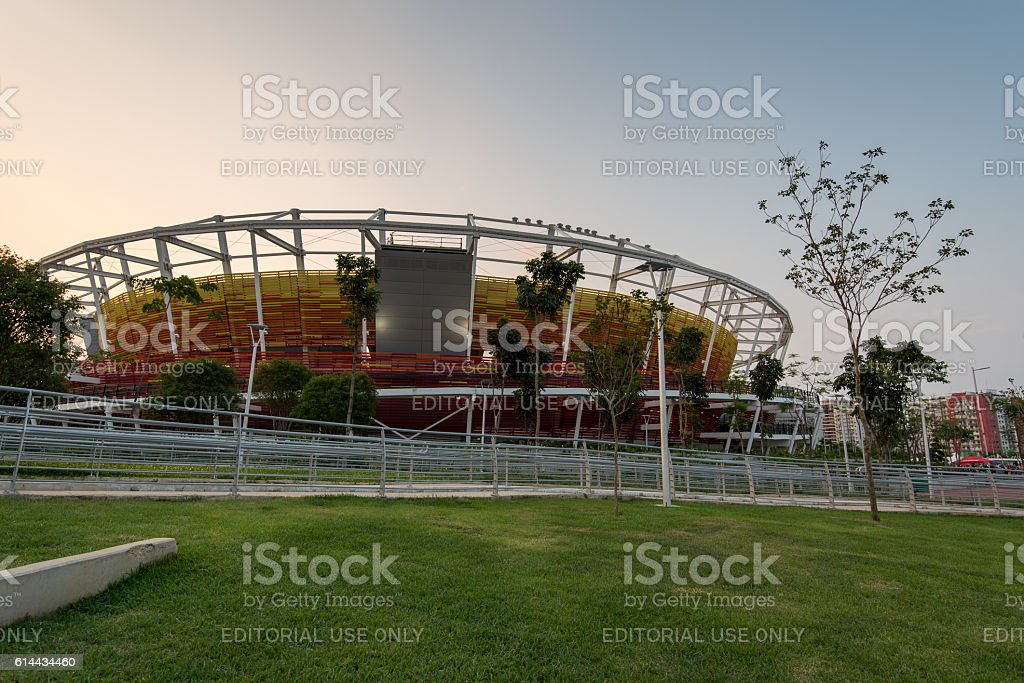 Olympic Tennis Venue stock photo