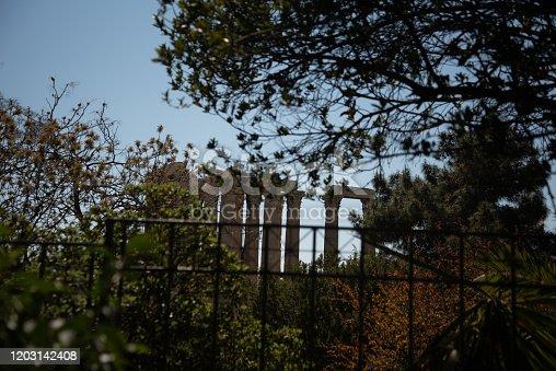 Olympic Zeus temple, Athens, Greece