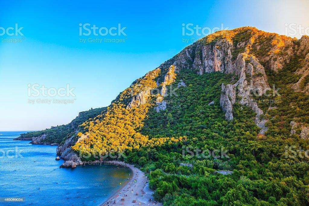 Olympos Beach stok fotoğrafı