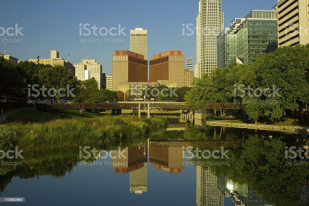 Omaha at Dawn royalty-free stock photo