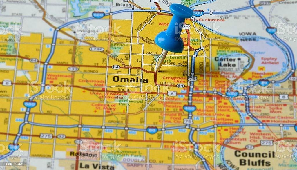 Omaha, Nebraska stock photo
