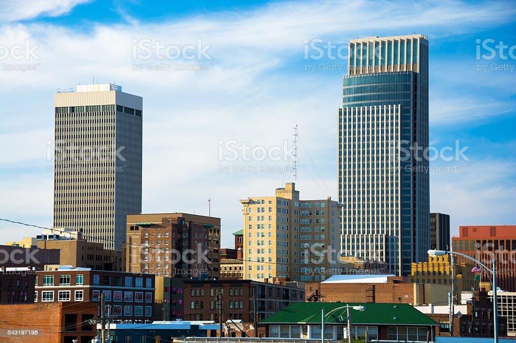 Omaha Skyscrapers stock photo