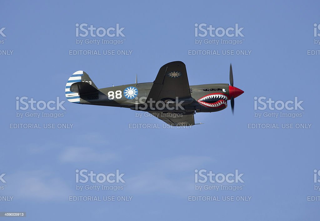 Omaka Air Show, Blenheim, New Zealand stock photo
