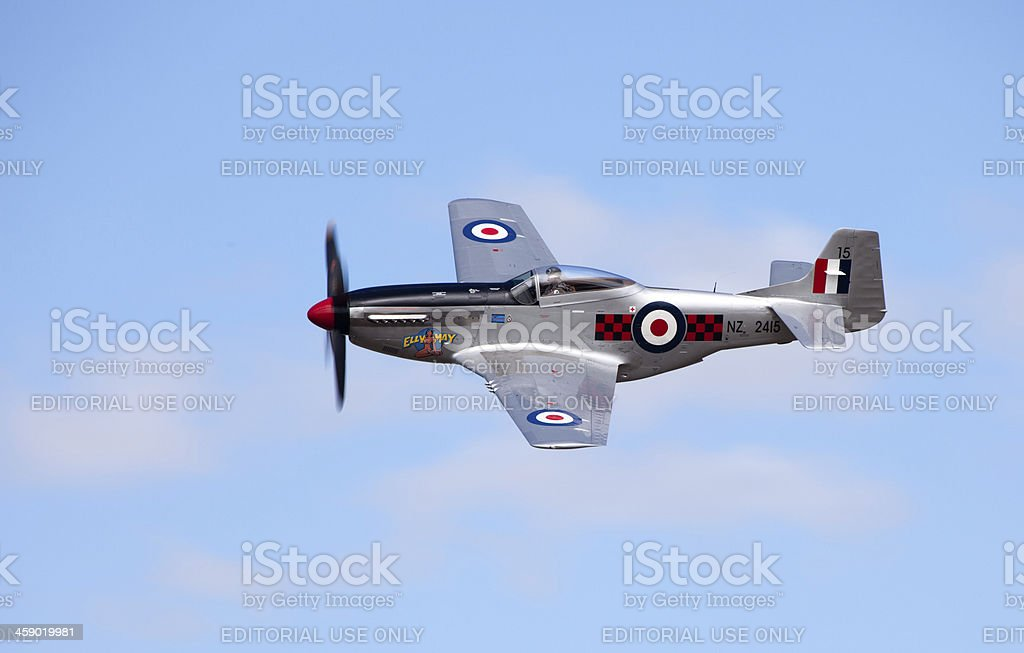 Omaka Air Show, Blenheim, New Zealand royalty-free stock photo