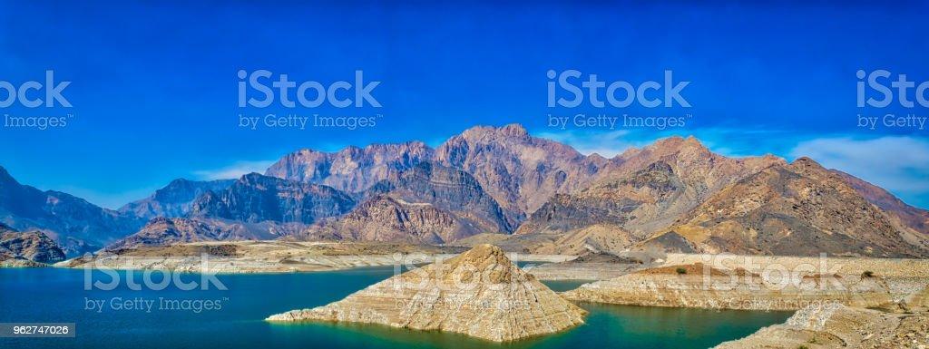 Oman Landscape Panorama - Foto stock royalty-free di Acqua
