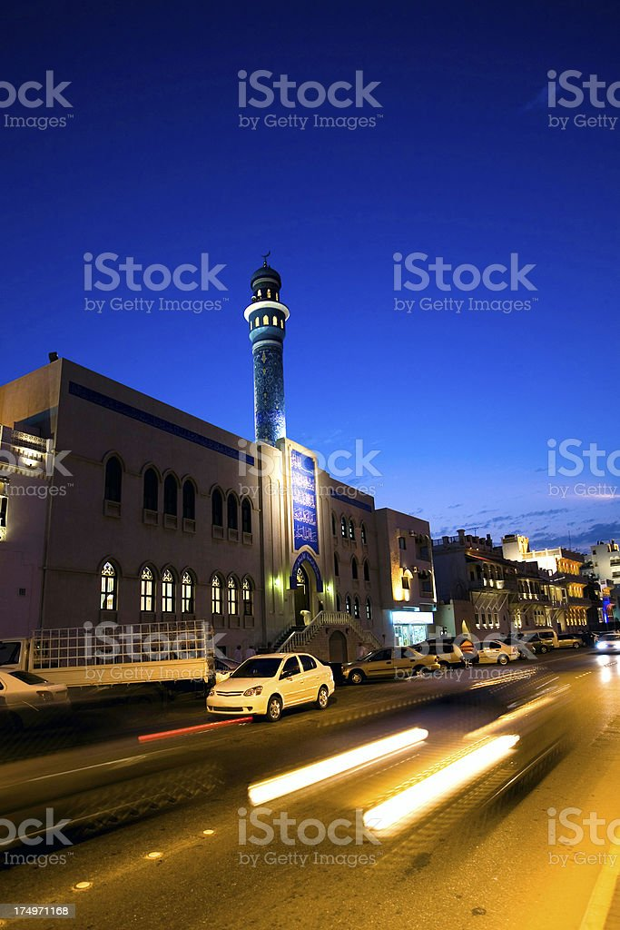 Oman, Muscat, Muttrah district. stock photo
