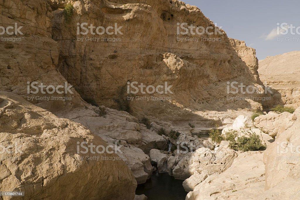 Oman Wadi Bani Khalid royalty-free stock photo