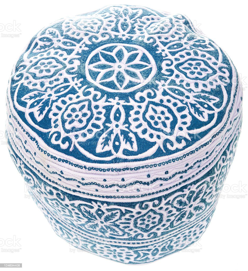 omani cap royalty-free stock photo