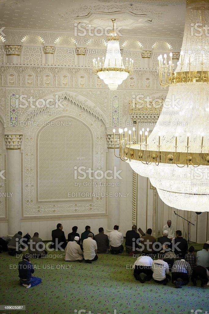 Omar Ibn Al-Khattab Mosque royalty-free stock photo