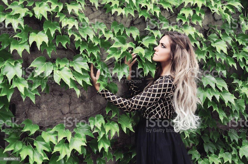 ombre hair stock photo