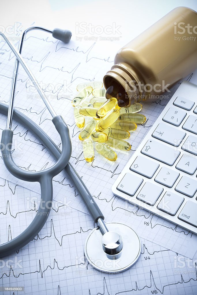 Omega 3 royalty-free stock photo