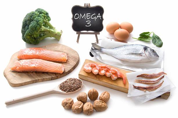 alimentos ricos omega 3 - omega 3 fotografías e imágenes de stock