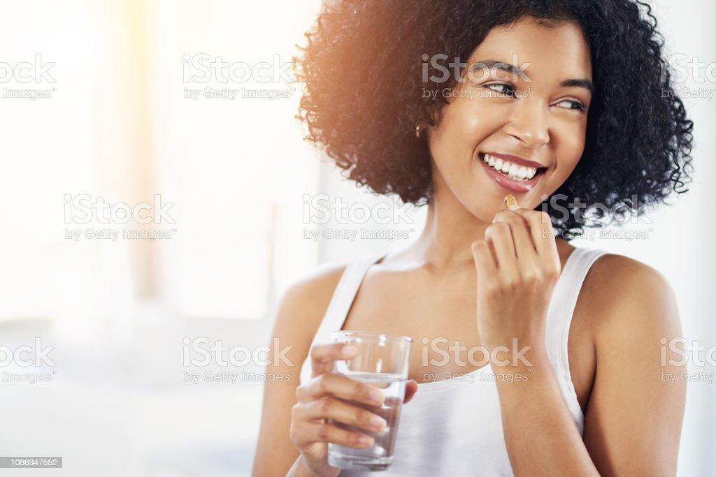 Grasas omega-3 son buenas para tu piel - foto de stock