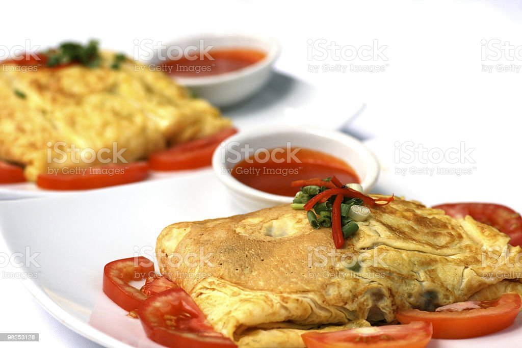 Omelets royalty-free stock photo