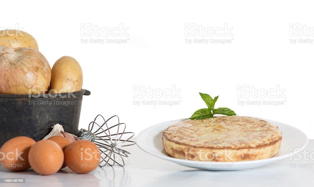 Omelette stock photo