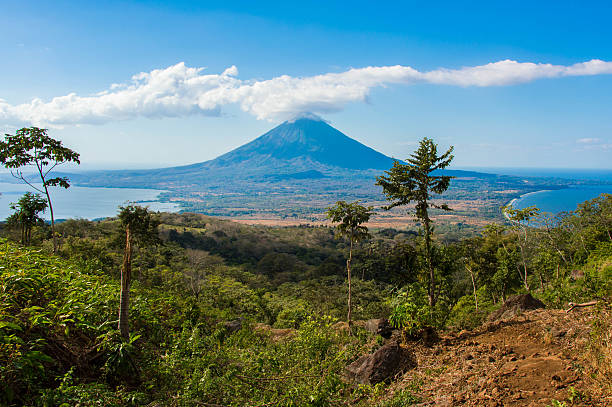 Ometepe island stock photo