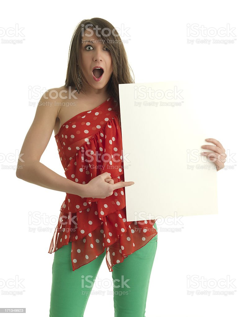 Omg look at this! stock photo