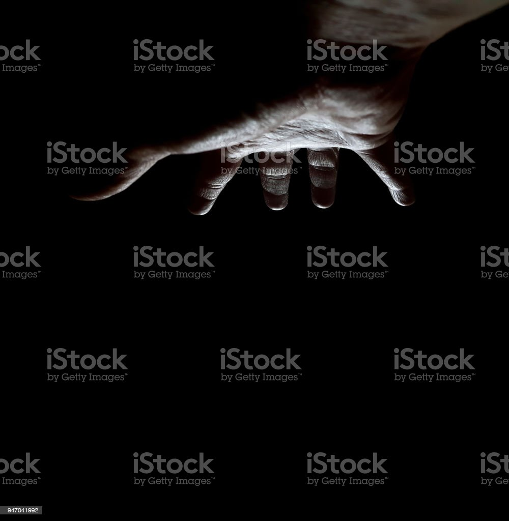 Ominous All Powerful Controlling Hand stock photo