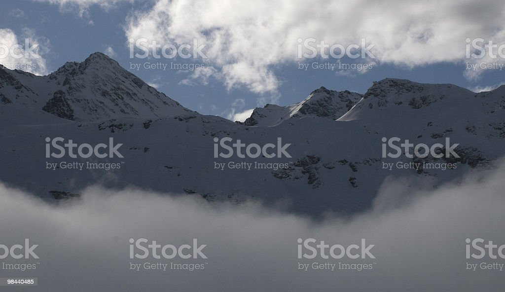 ominous clouds royalty-free stock photo