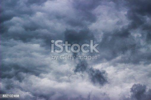 istock Ominous dark clouds 832102458