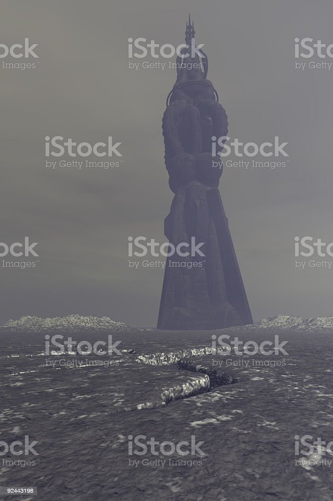 Ominous Tower - V2 royalty-free stock photo