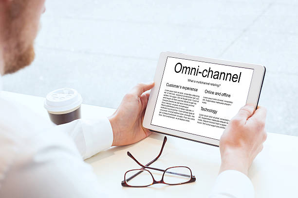 omnichannel marketing - omnichannel marketing stock photos and pictures