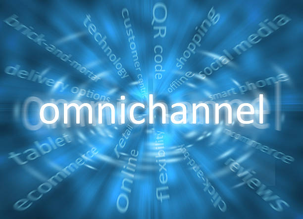 Omnichannel stock photo